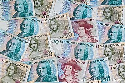 Zweedse kronen. Zweedse munt