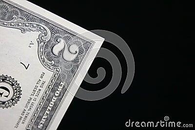 Zwei Dollarschein