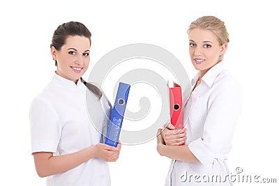 Gruppe Krankenschwestern stockfoto. Bild von frauen, frau