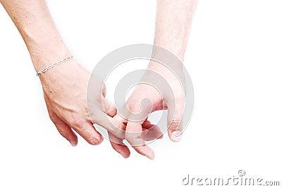 Zwei mittlere Finger