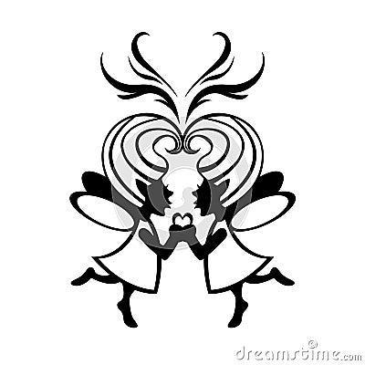 Zwei simmetric Feen