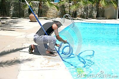 Zwembadreinigingsmachine