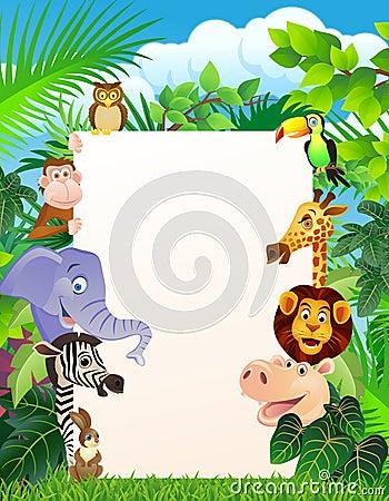 Zwierzęcy cartoo