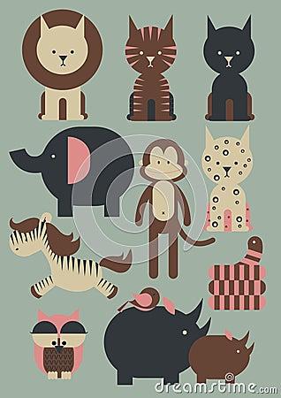 Zwierzęta /illustration