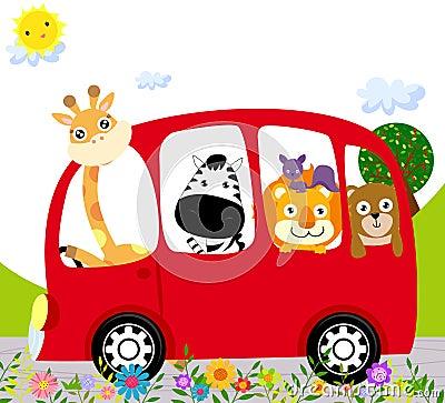 Zwierzę autobus