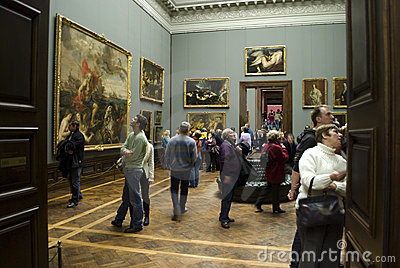 Zwinger art gallery, Dresden Editorial Photography