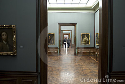 Zwinger art gallery, Dresden Editorial Stock Image