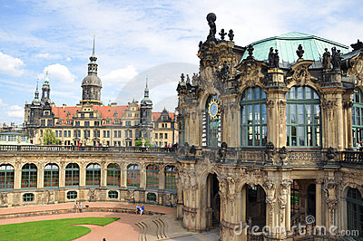 The Zwinger museum in Dresden,Germany Editorial Photo