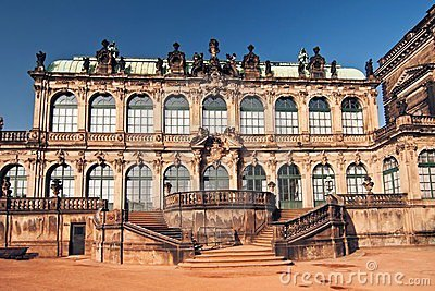 The Zwinger - palace in Dresden