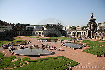Zwinger palace in Dresden