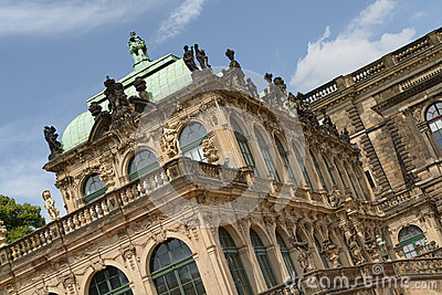 The Zwinger palace Editorial Image