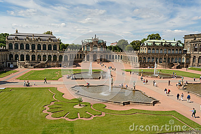 The Zwinger palace Editorial Photo