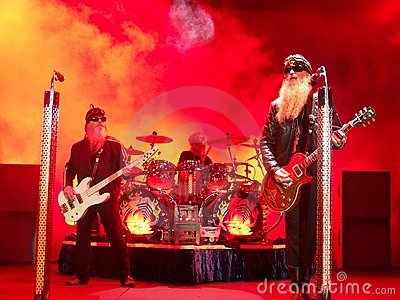 ZZ Top Editorial Stock Image