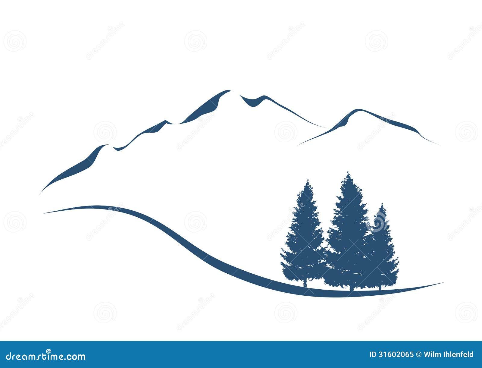 горы графика: