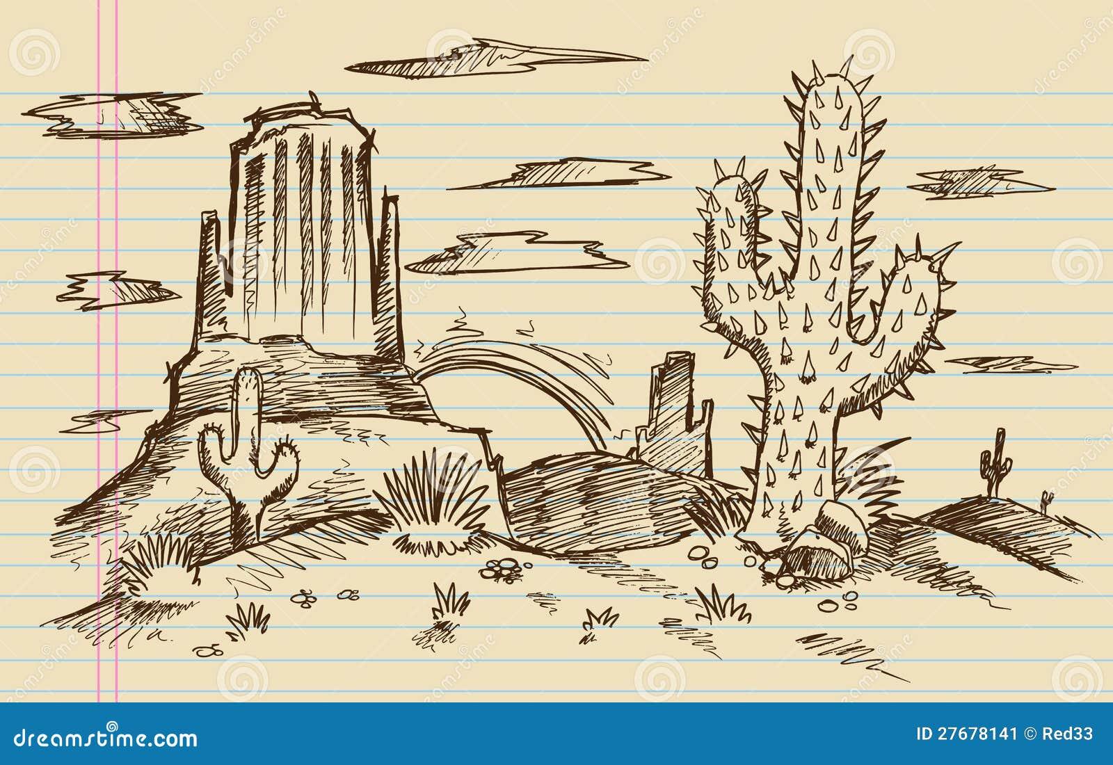 эскиз ландшафта:
