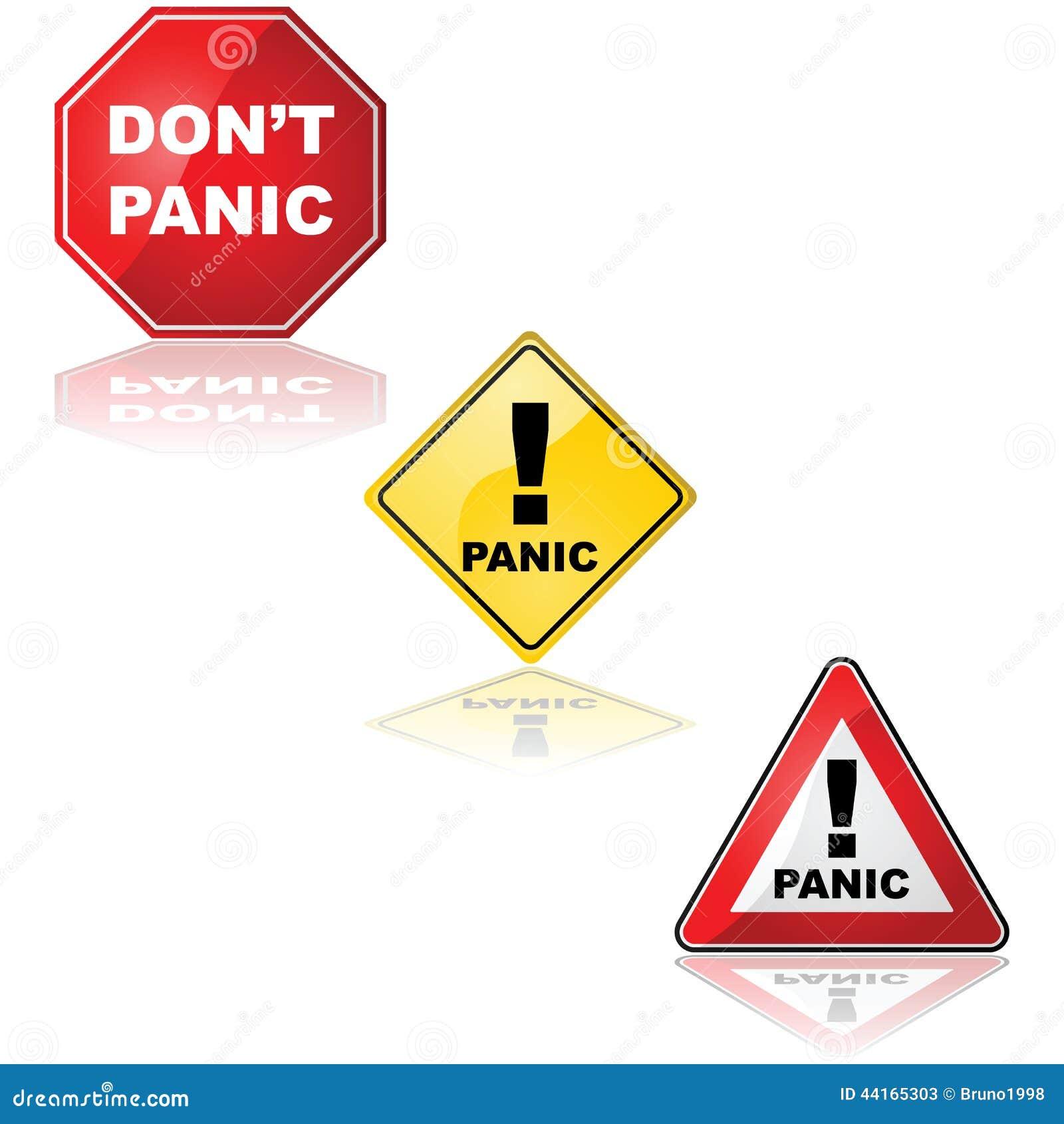 смайлик паника: