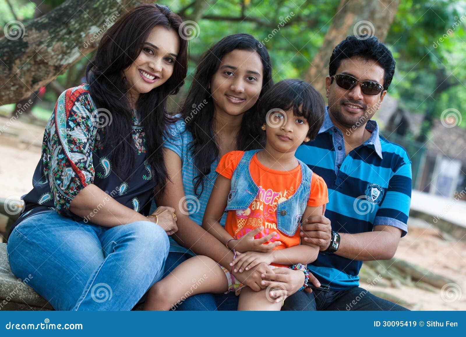 Channa Perera family photo