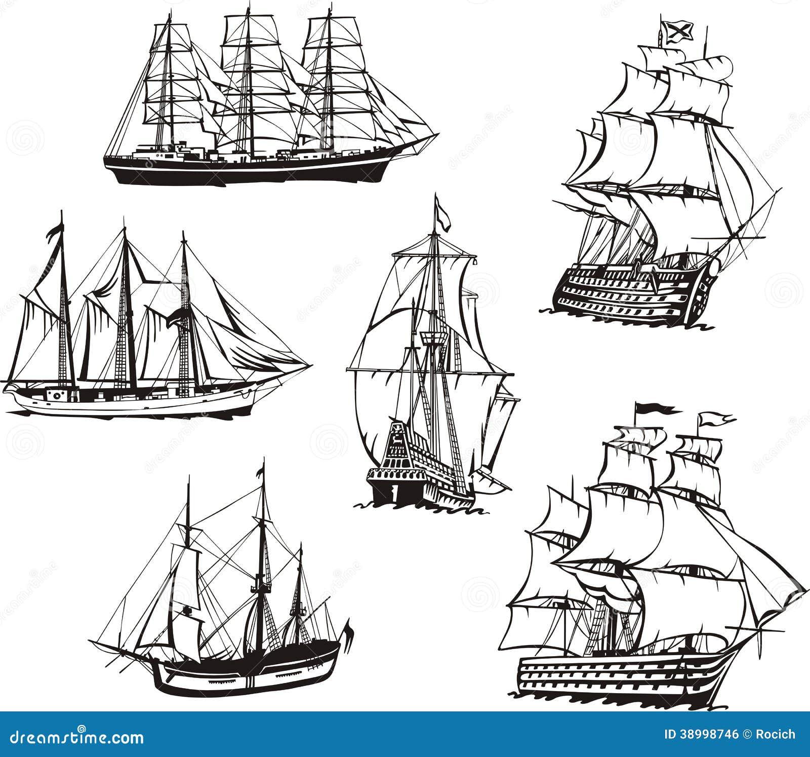 эскиз корабля:
