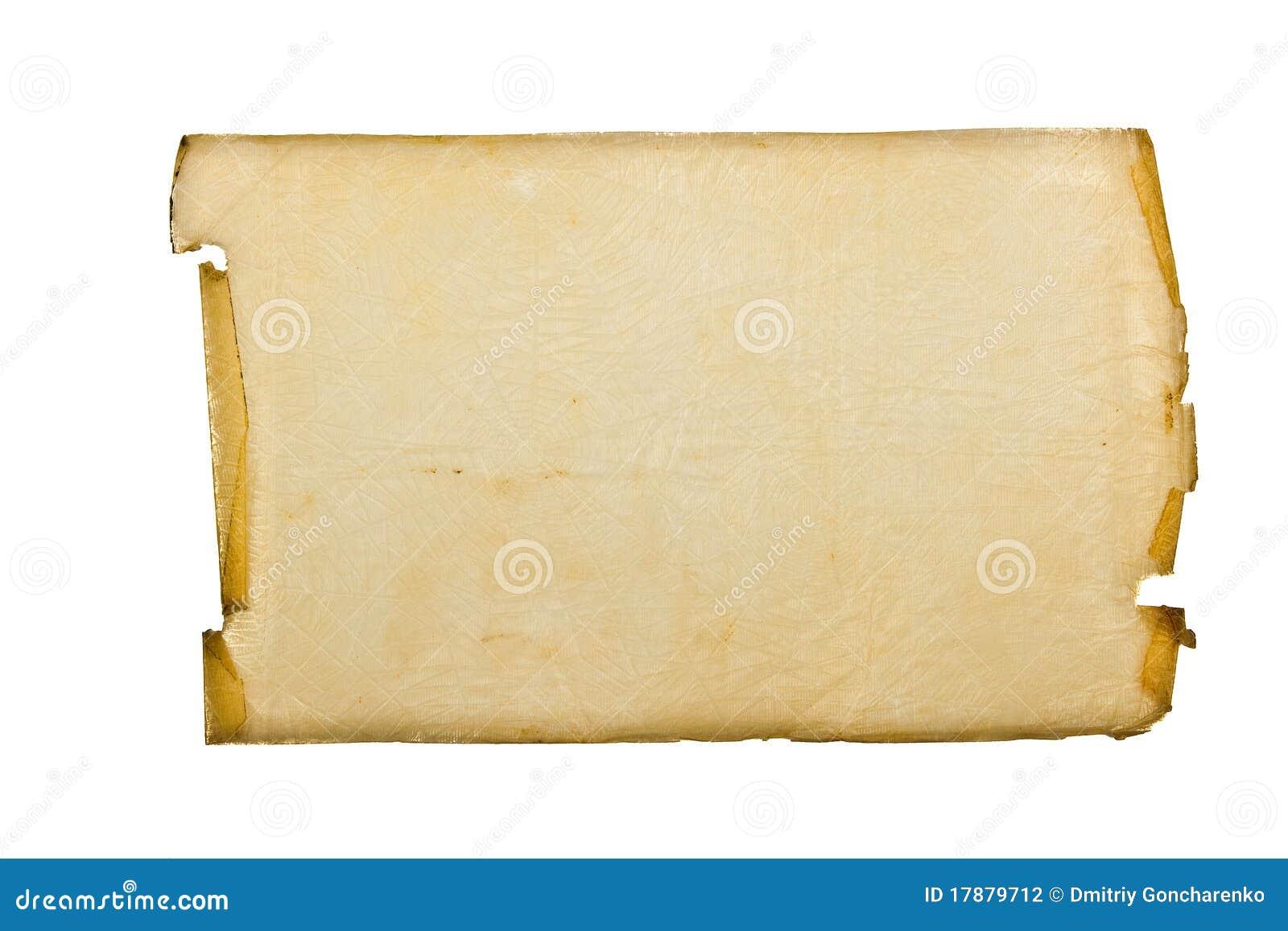 старинный лист пергамента картинка