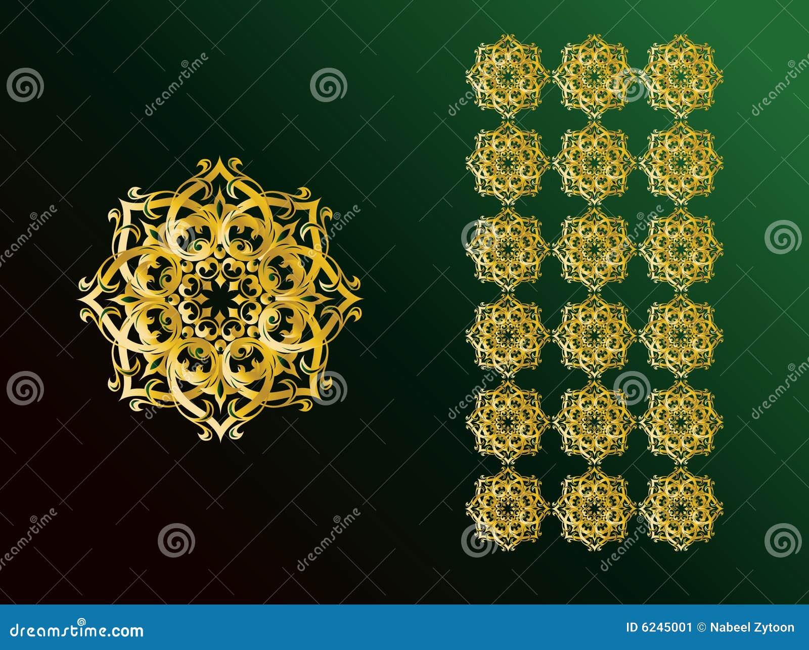 阿拉伯背景例证ornamint简单的符号图片