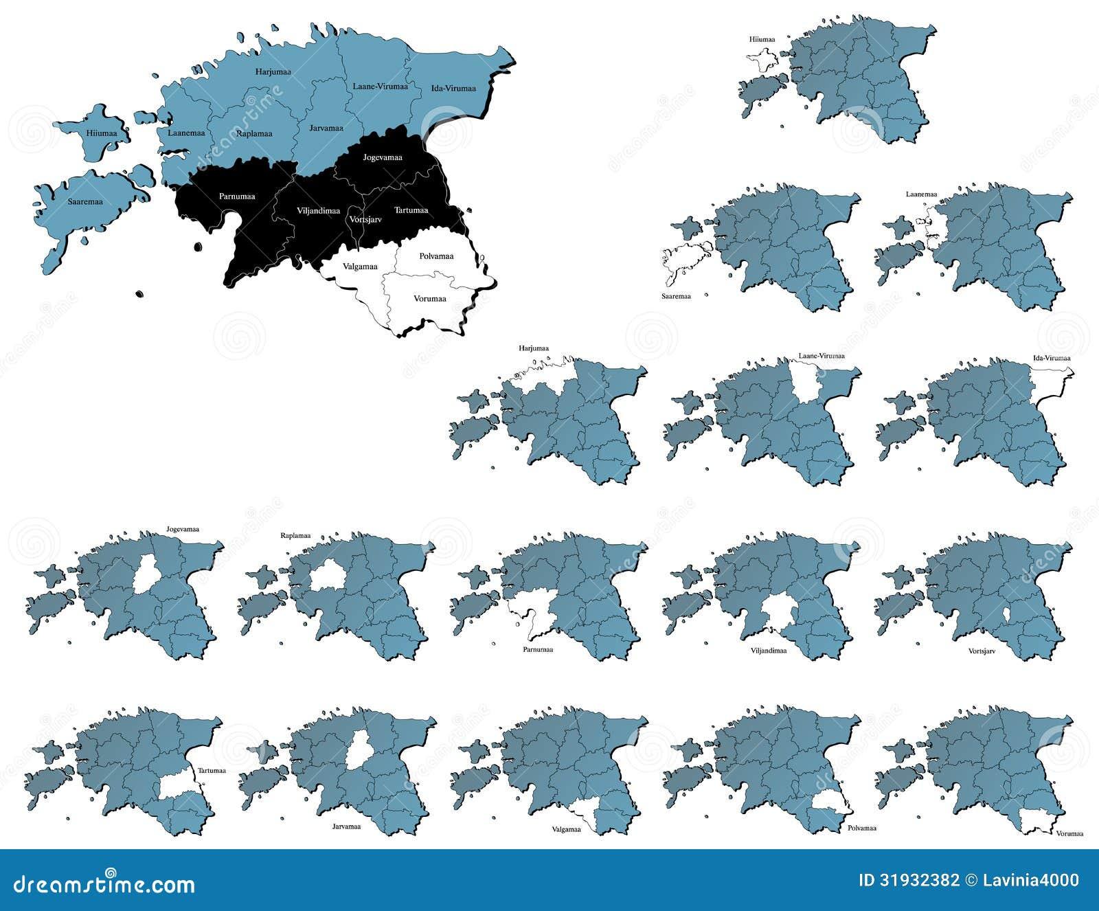 俄罗斯空白地图