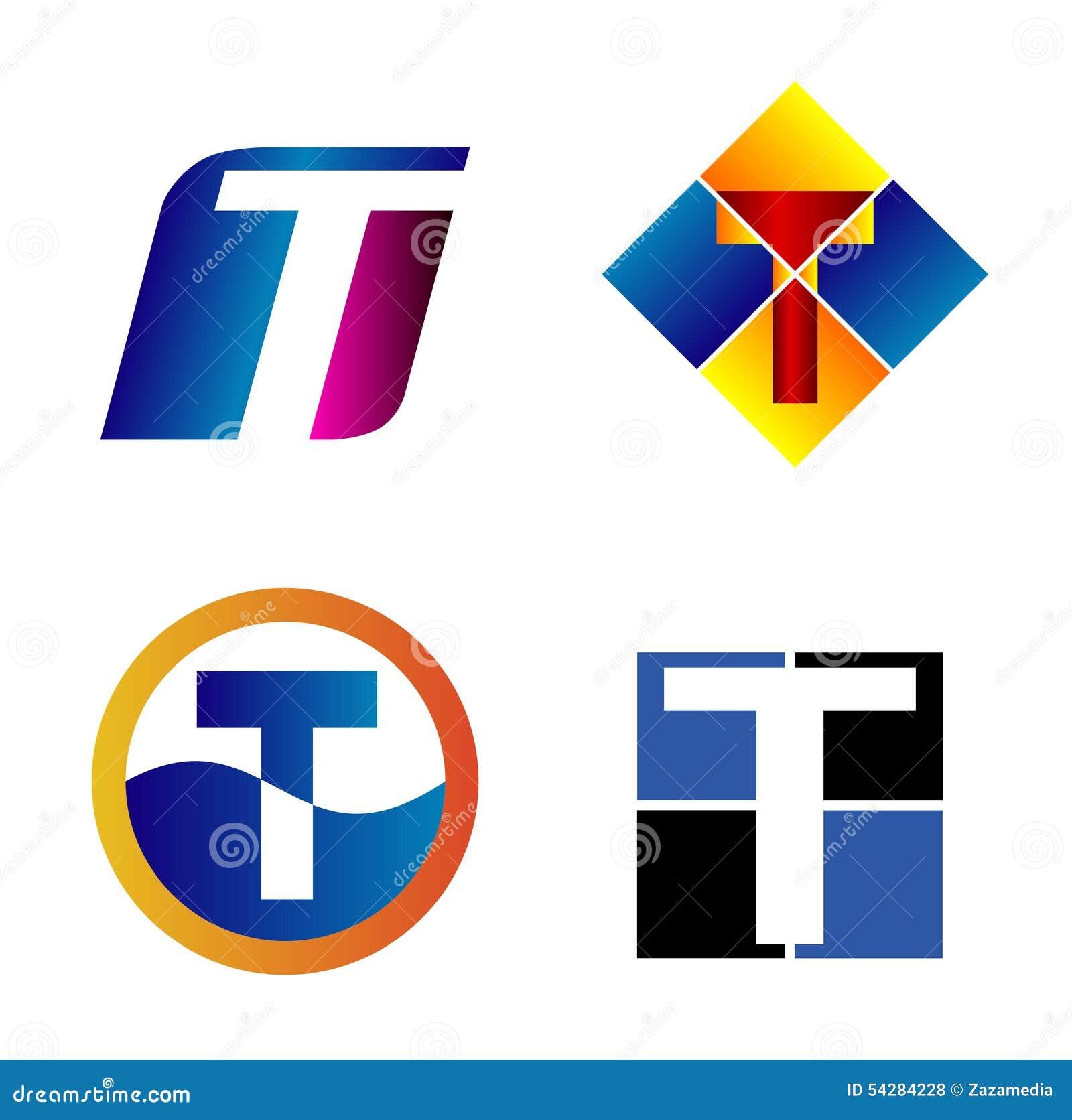 按字母的构思设计信函徽标图片