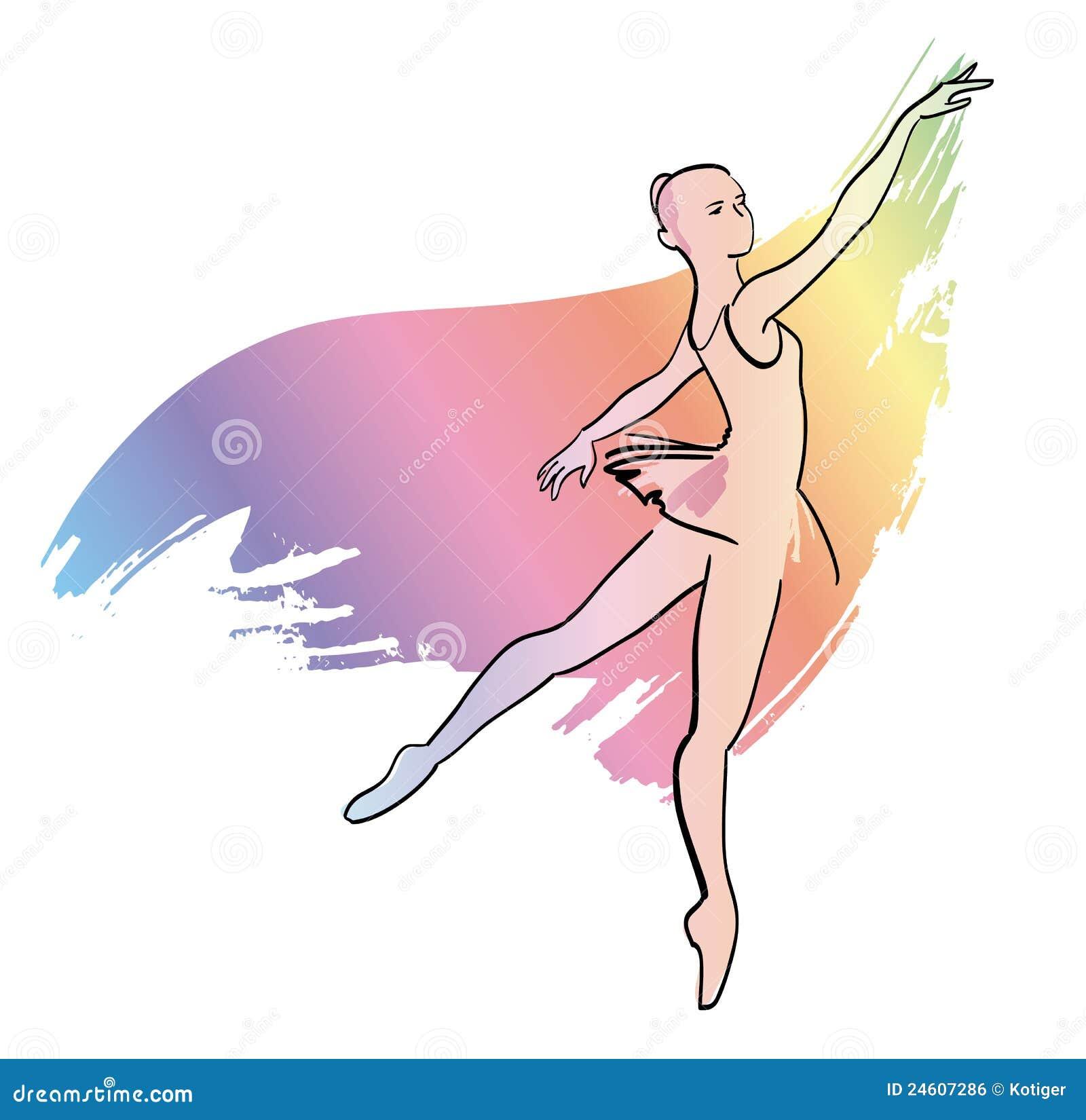 芭蕾舞女演员舞蹈女孩