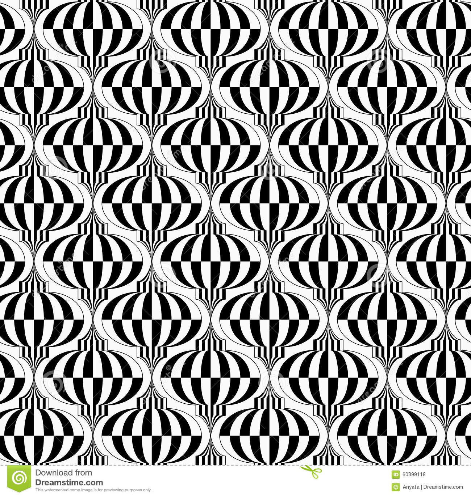 黑白垂直的方格的电灯泡图片