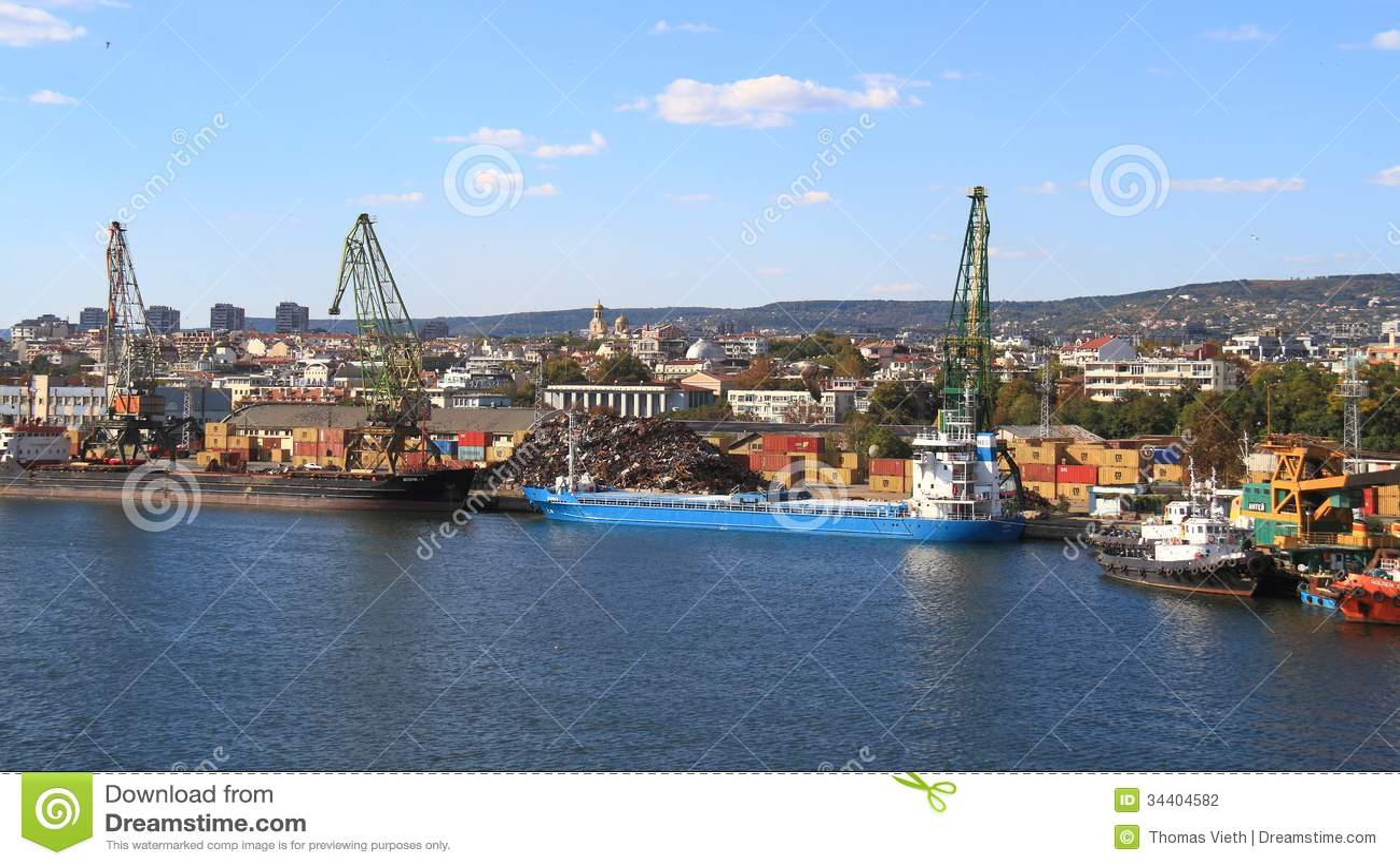 保加利亚:瓦尔纳港口