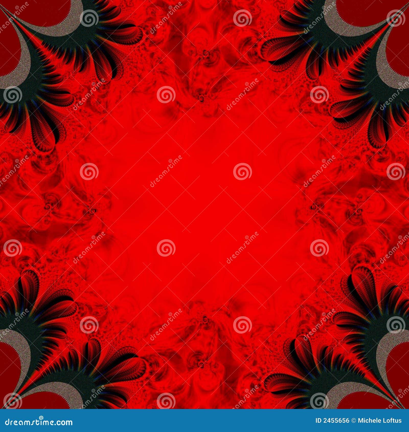 背景黑色红色