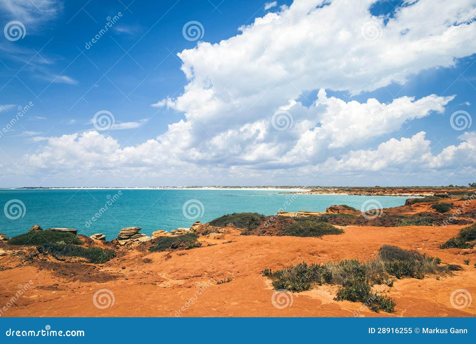 布鲁姆澳大利亚好的风景的图象