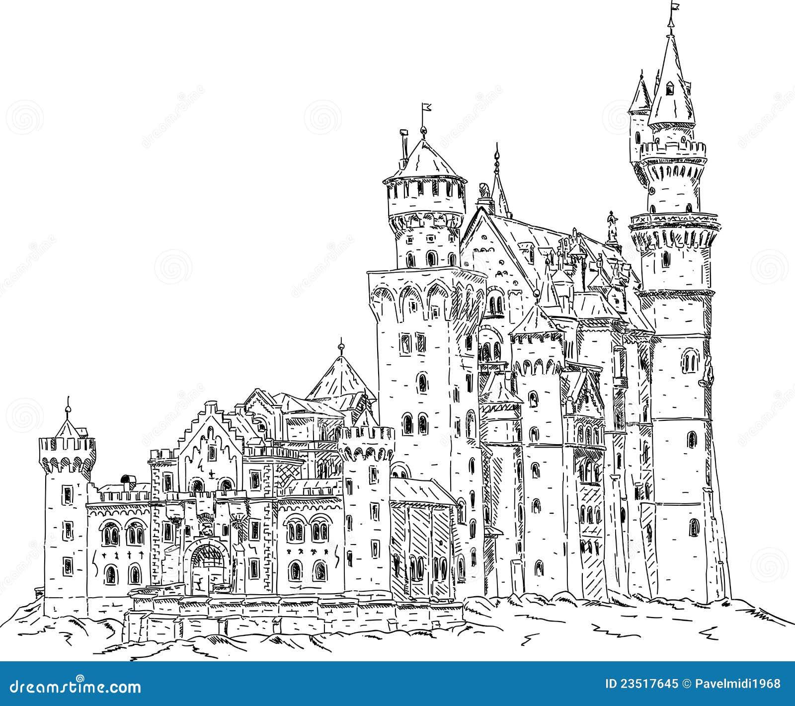 城堡德国neuschwanstein