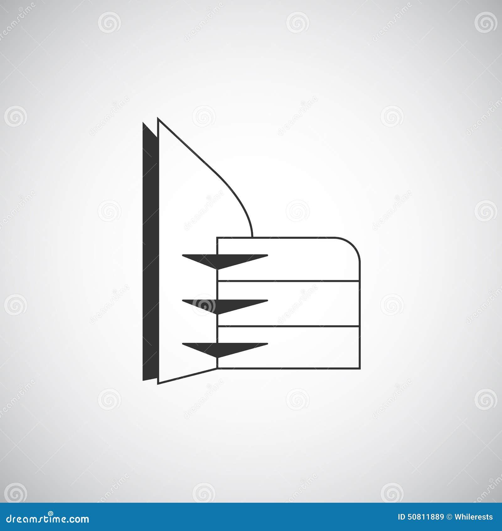 抽象建筑学大厦剪影商标设计模板图片