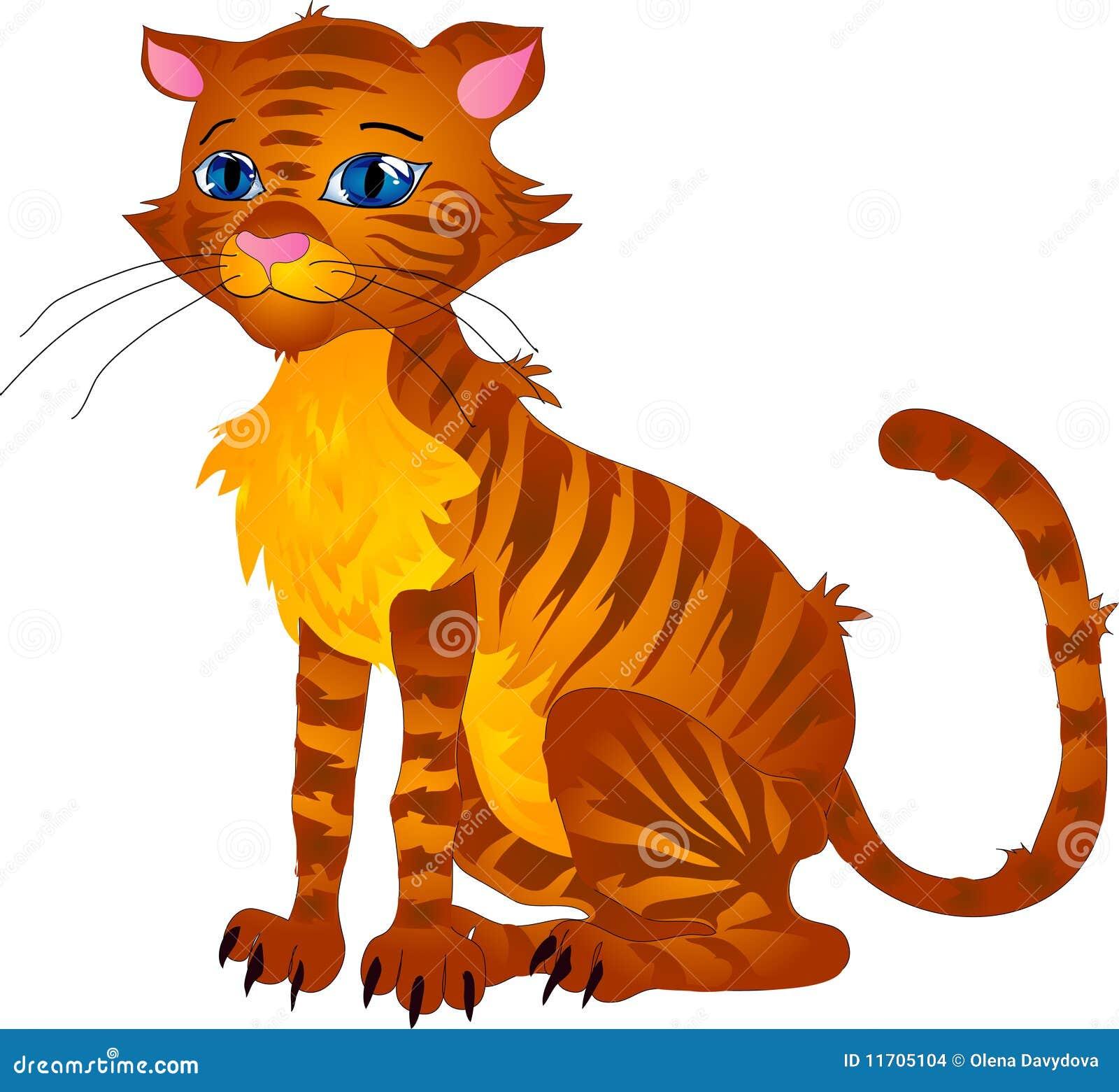 动画片猫 库存图片 - 图片图片