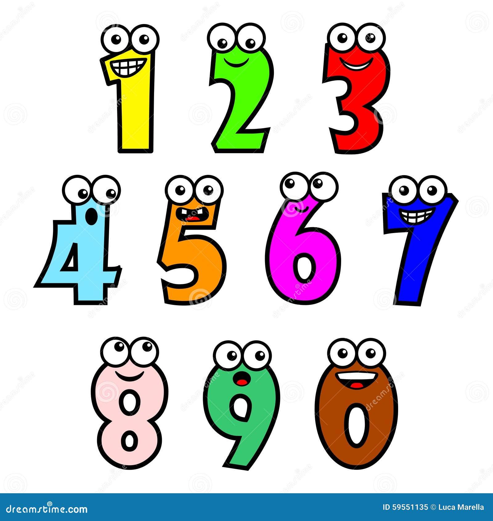 数字0到10卡通图画_卡通数字1,卡通单个数字,数字1_大山谷图库