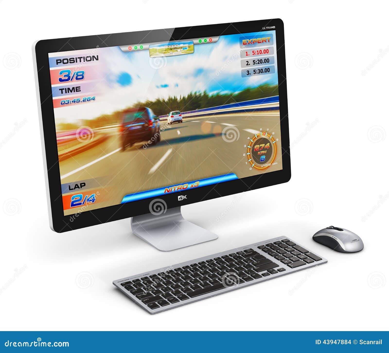 赌博台式计算机图片