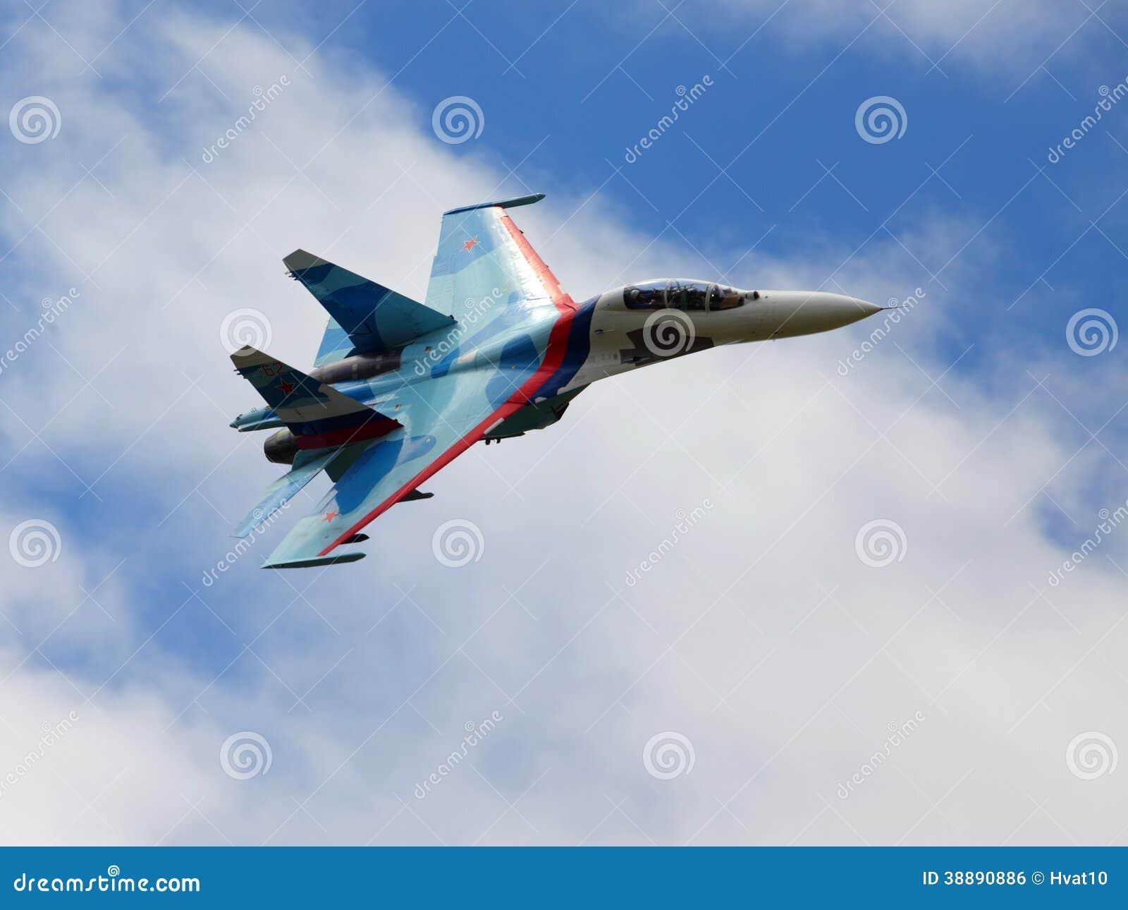 俄国战斗机 库存照片