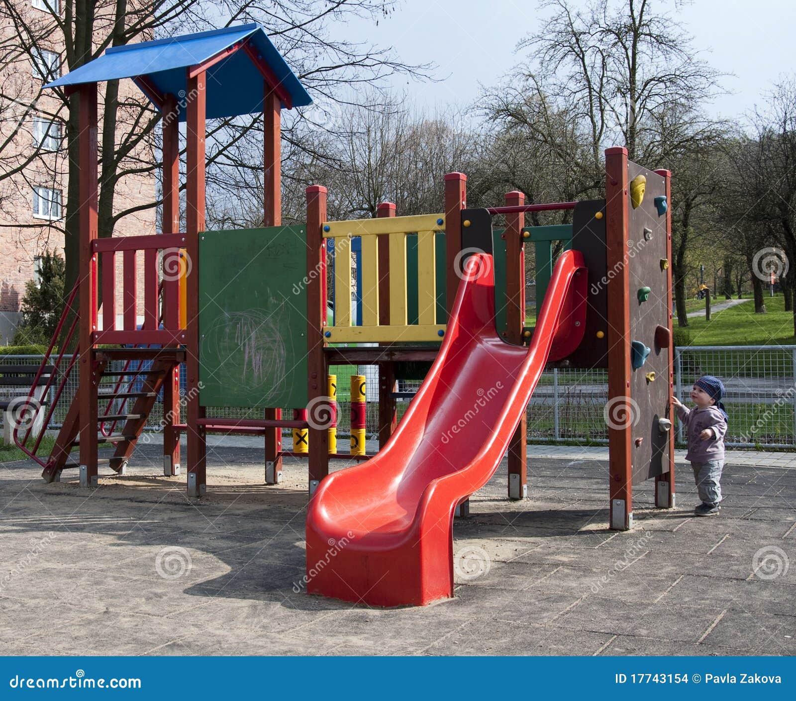 儿童操场 库存图片 - 图片
