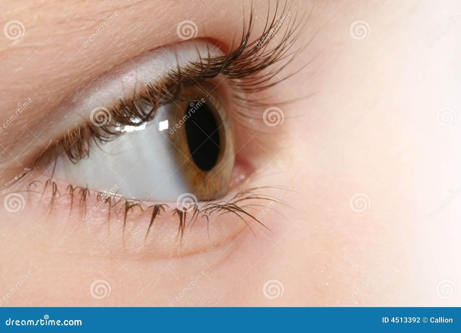 儿童眼睛 图库摄影 - 图片