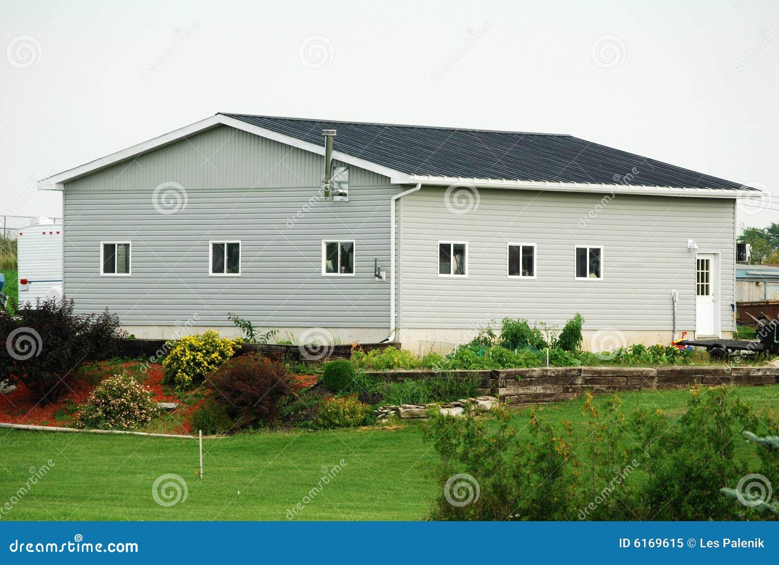 正方形房子卡通图片