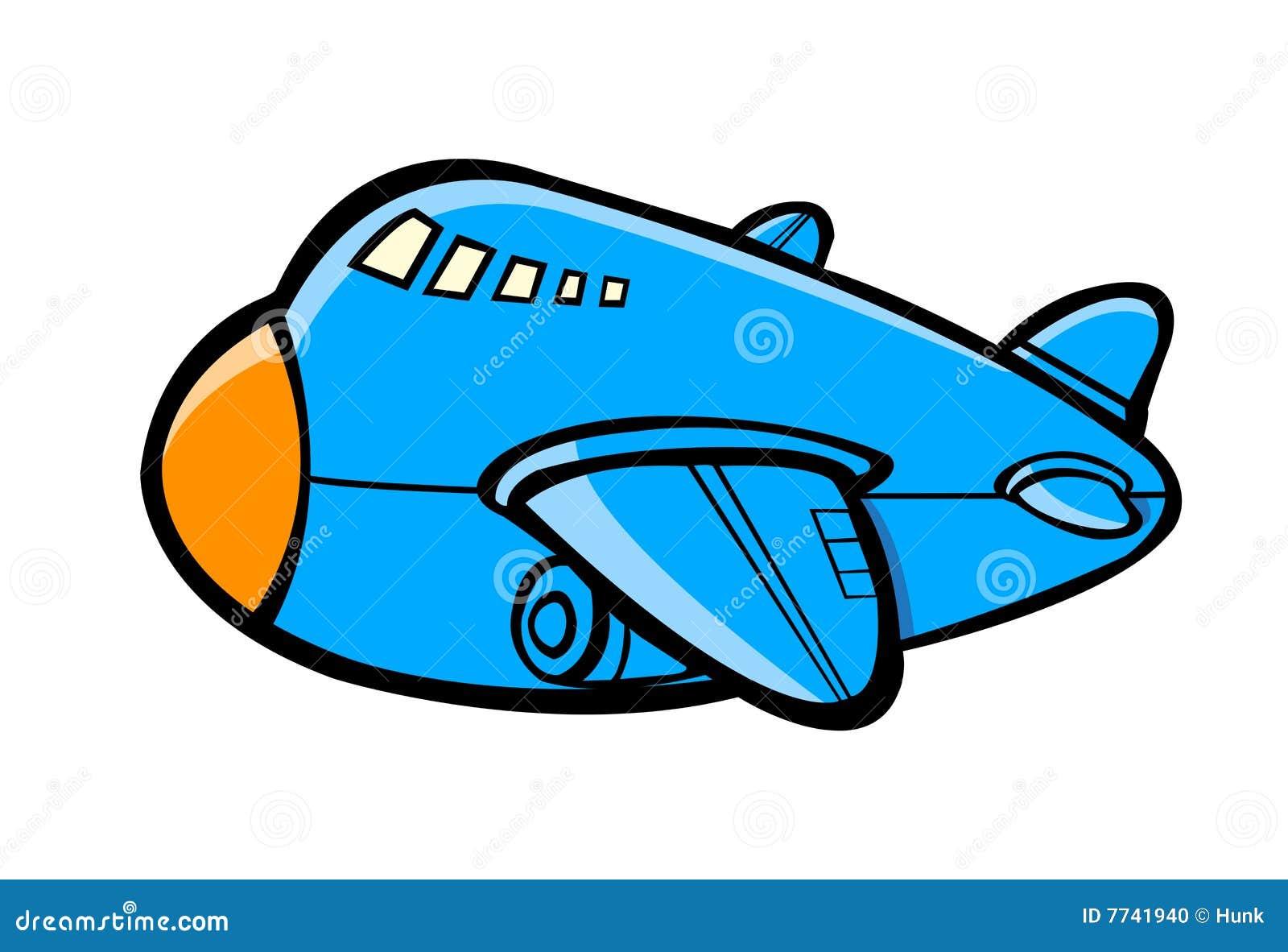 飞机动画片 库存照片