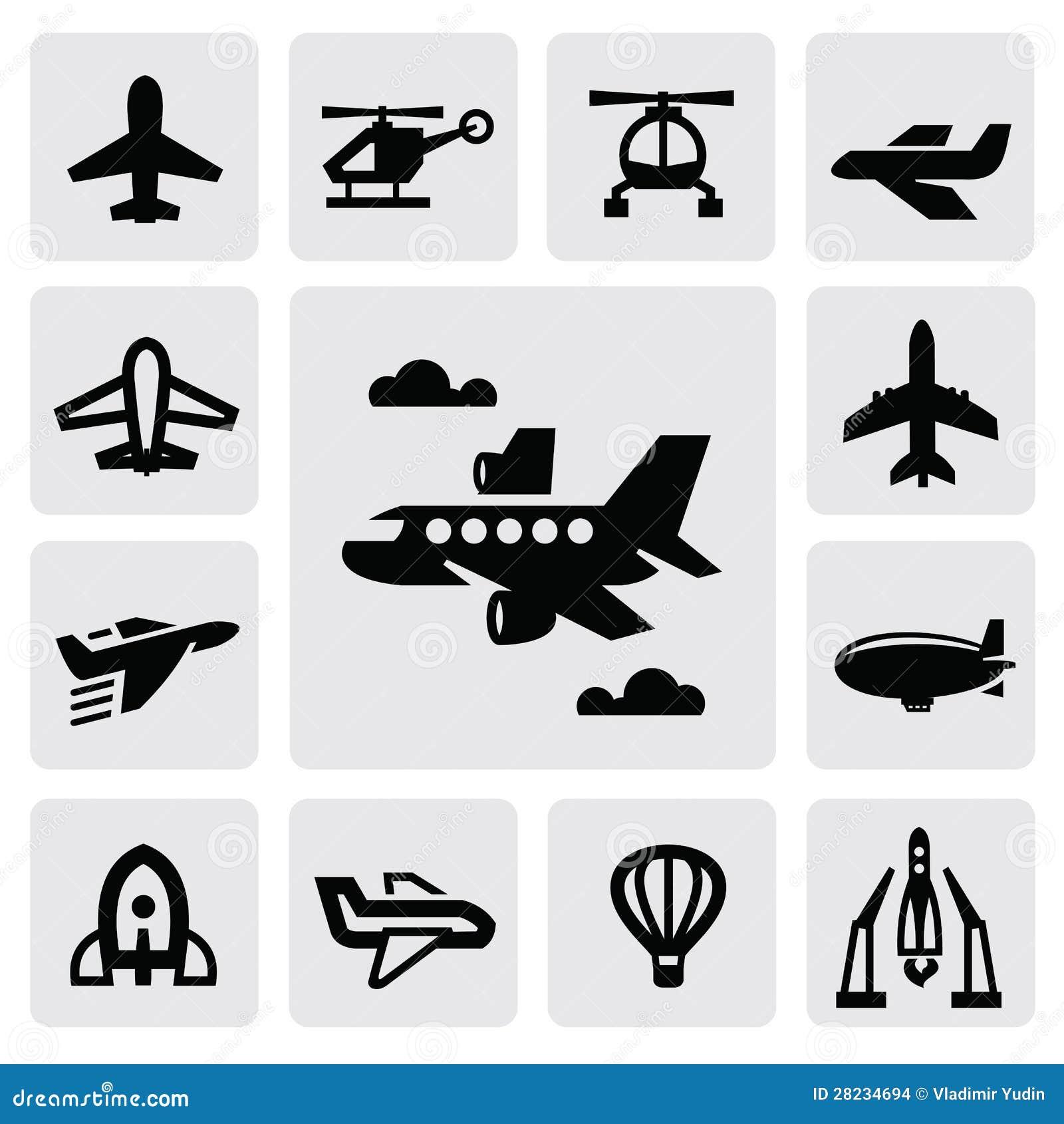 飞机图标 库存图片 - 图片