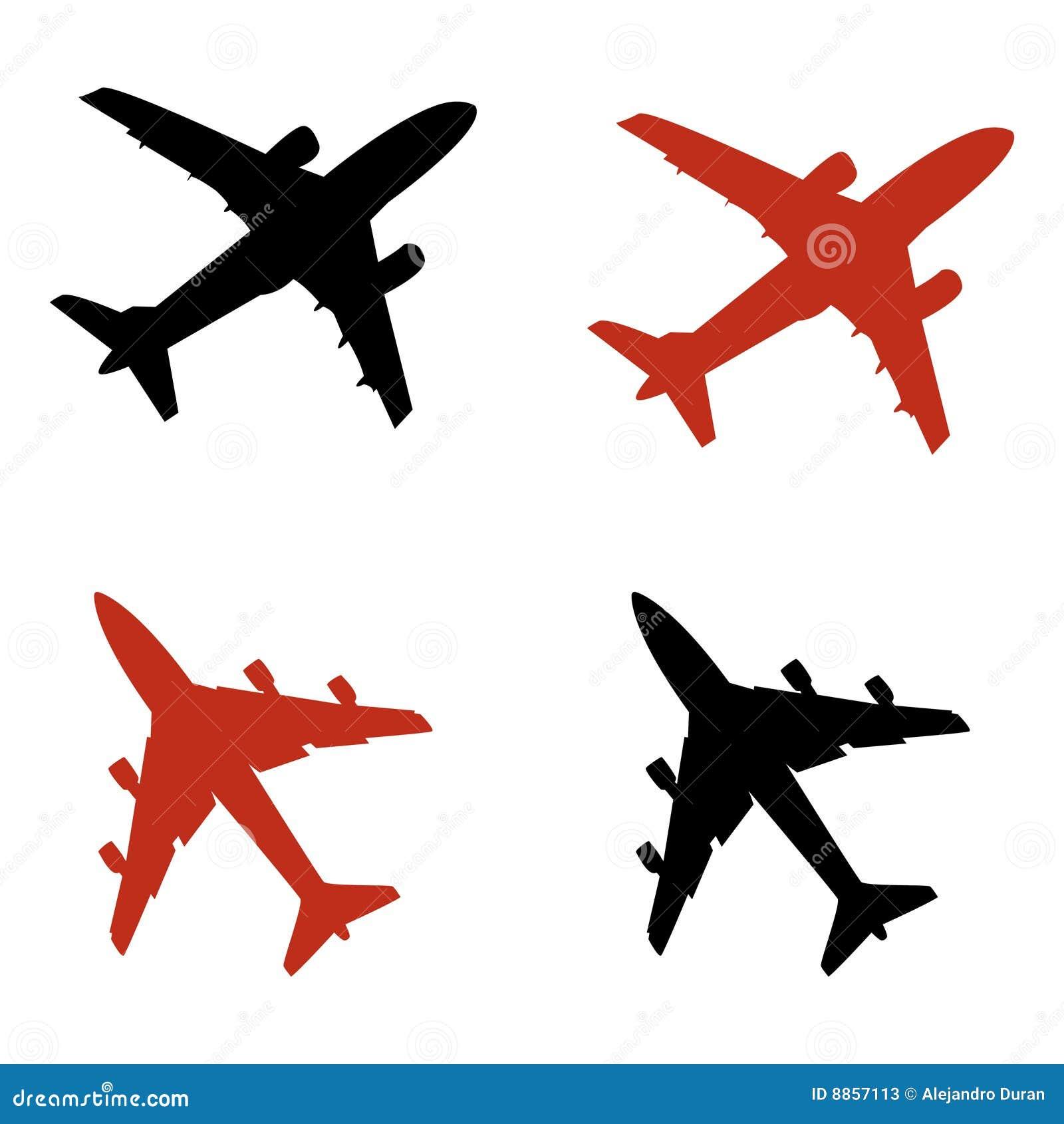 飞机图标 库存照片 - 图片