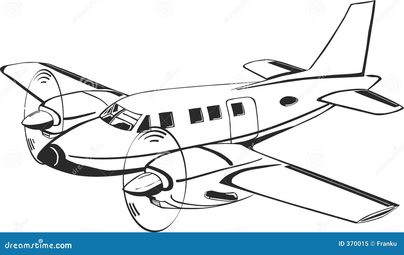 飞机介绍画