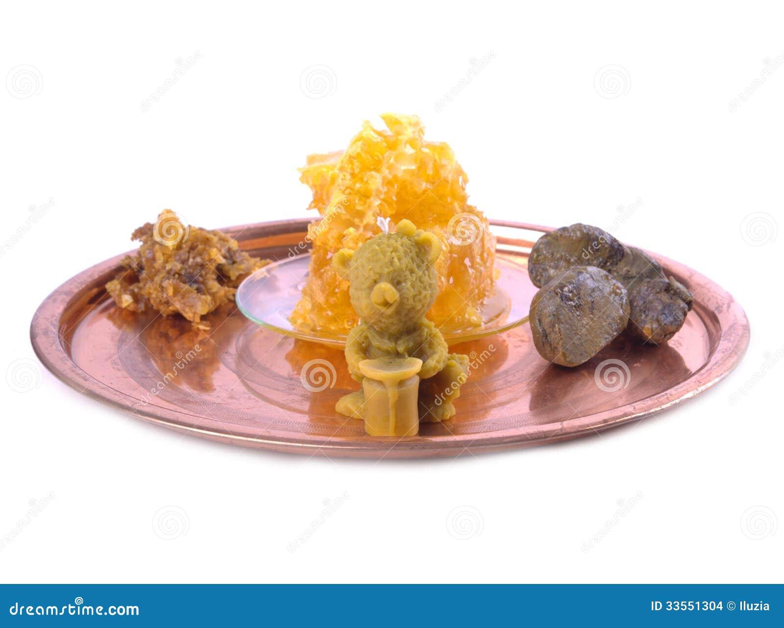 蜂蜡蜡烛小雕象