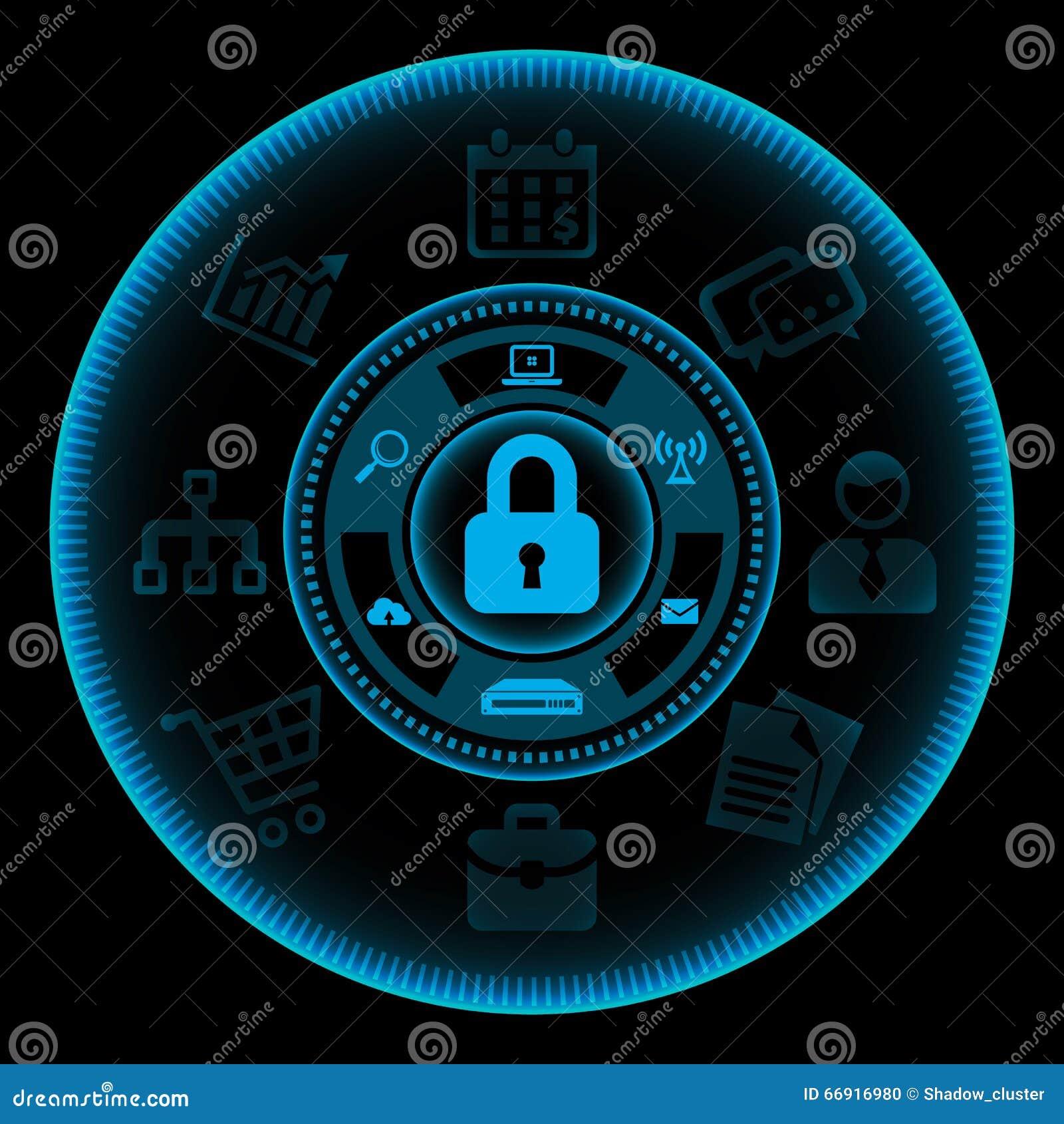 概念防火墙信息查出的安全技术白色图片