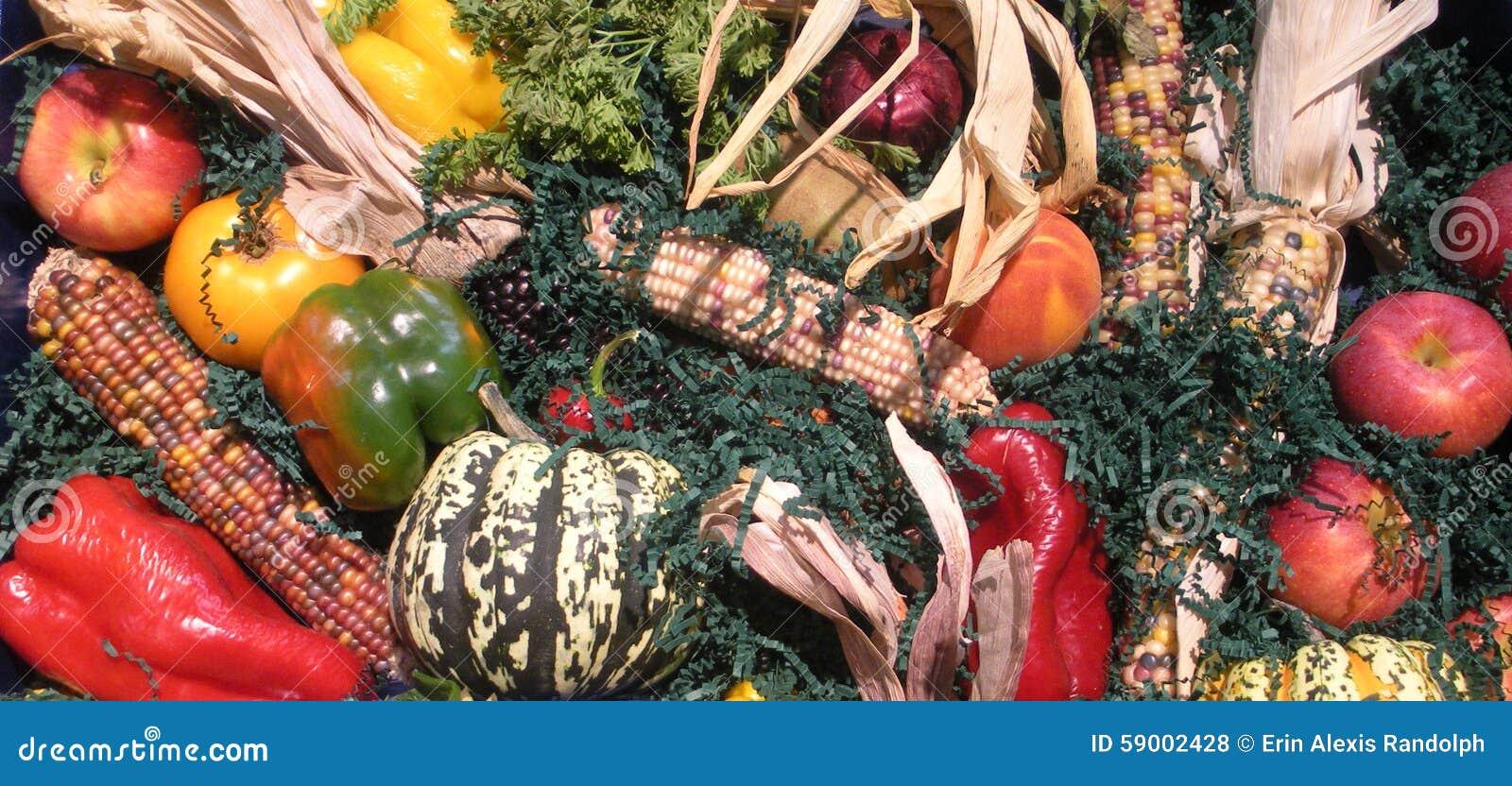 水果和蔬菜拼贴画