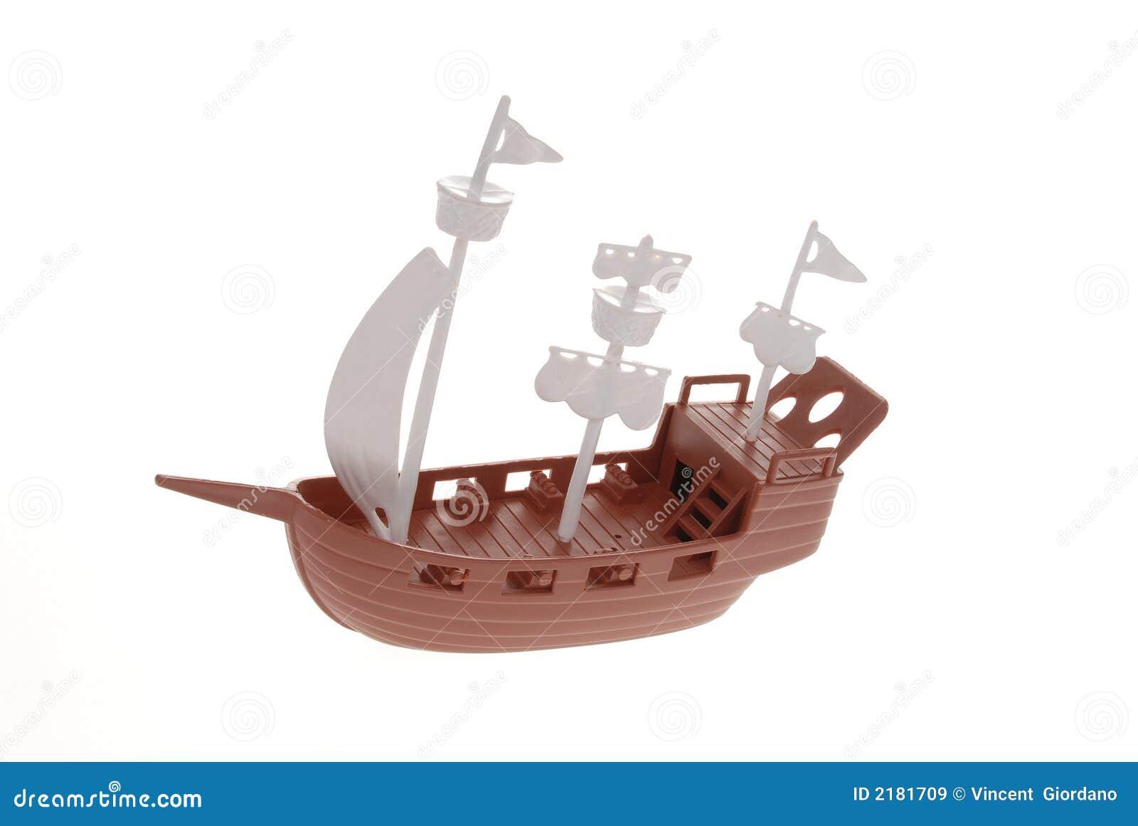 海盗船玩具 免版税库存图片