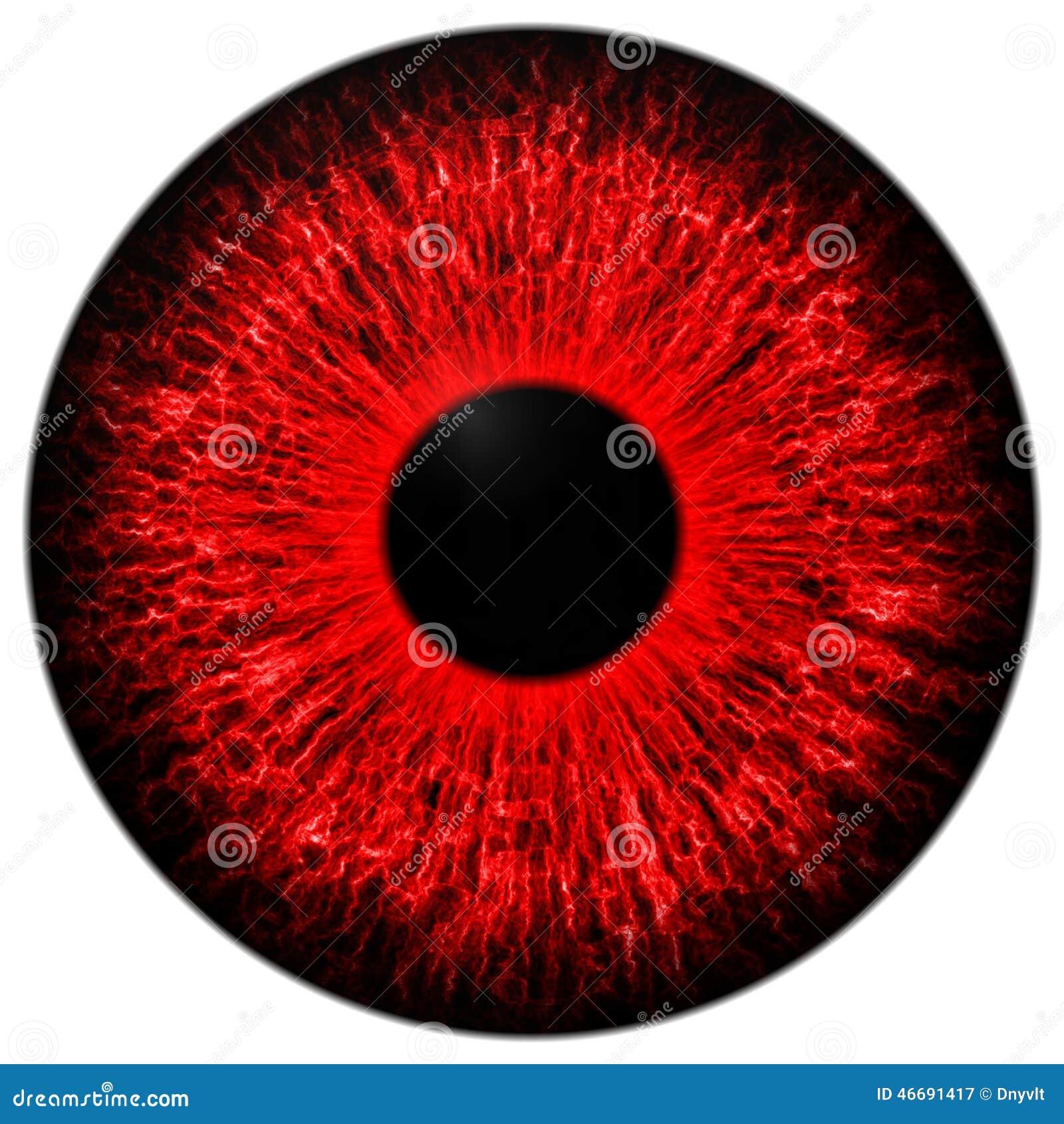 红色眼睛 库存例证 - 图片
