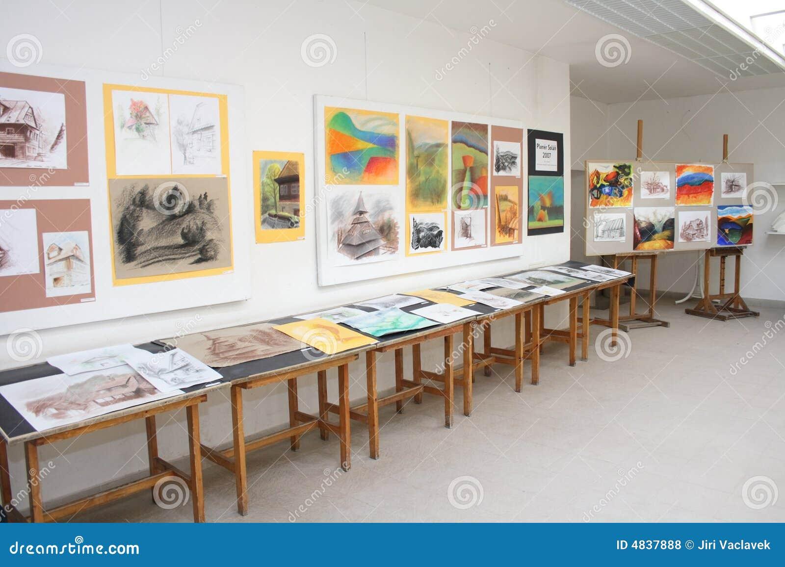 美术画廊学校附属小图片